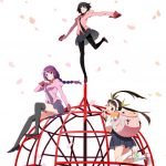 Owarimonogatari anime visual