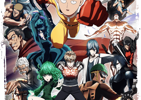 One-Punch Man Season 1 Official Anime Poster