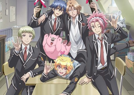 Visual from anime OVA Cute High Earth Defense Club LOVE! LOVE! LOVE!