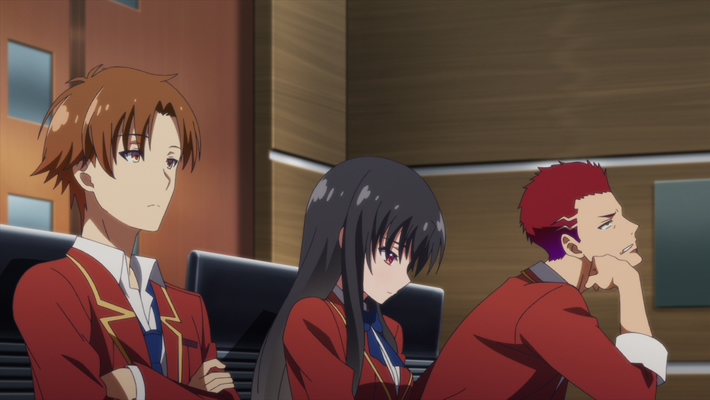 Classroom of the Elite Episode 5 Official Anime Screenshot