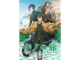 New Visual for Fall Anime Kino's Journey the Beautiful World the Animated Series