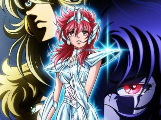 Saint Seiya Spin-Off Saintia Sho Anime Reveals Second Key Visual