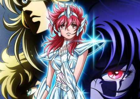Anime Saint Seiya: Seintia Sho 2nd Key Visual