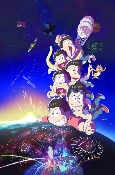 Visual from the second season of anime Osomatsu-san