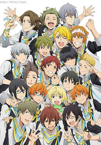 Idolmaster SideM Anime Visual
