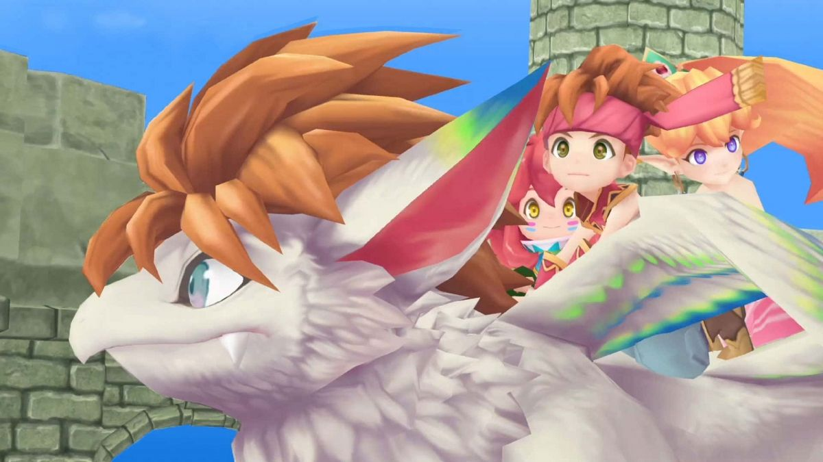 Secret of Mana Remake Game Screenshot