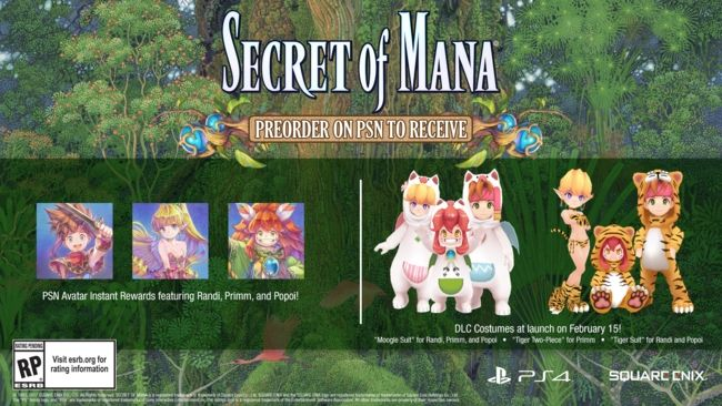 Secret of Mana DLC