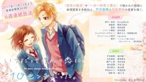 Itsudatte Bokura no Koi wa 10cm Datta New Anime Project