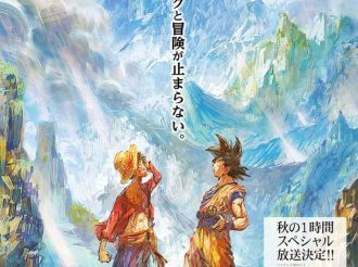 Luffy and Goku Go On An Adventure?! ONE PIECE × Dragon Ball Amazing Collaboration Visual