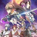 Sengoku Night Blood Fall 2017 Anime Visual