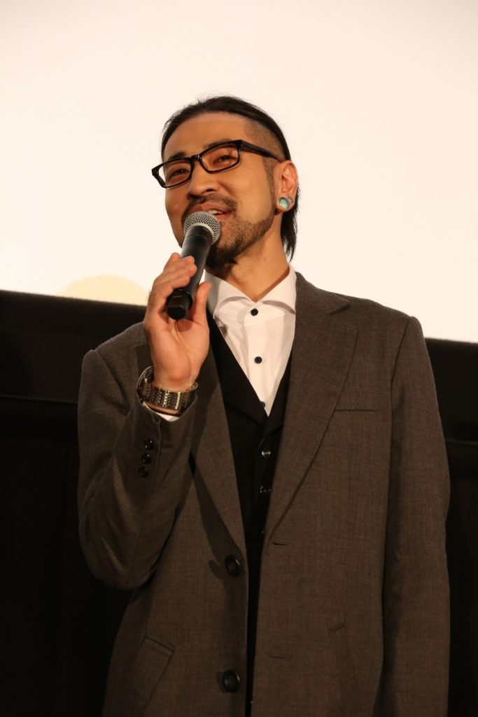 Ryota Takeuchi at the The Ancient Magus' Bride: Those Awaiting a Star Part 3 Stage Greeting