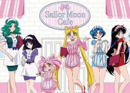 25th anniversary of Pretty Guardian Sailor Moon | collaboration cafe in four Japanese cities.