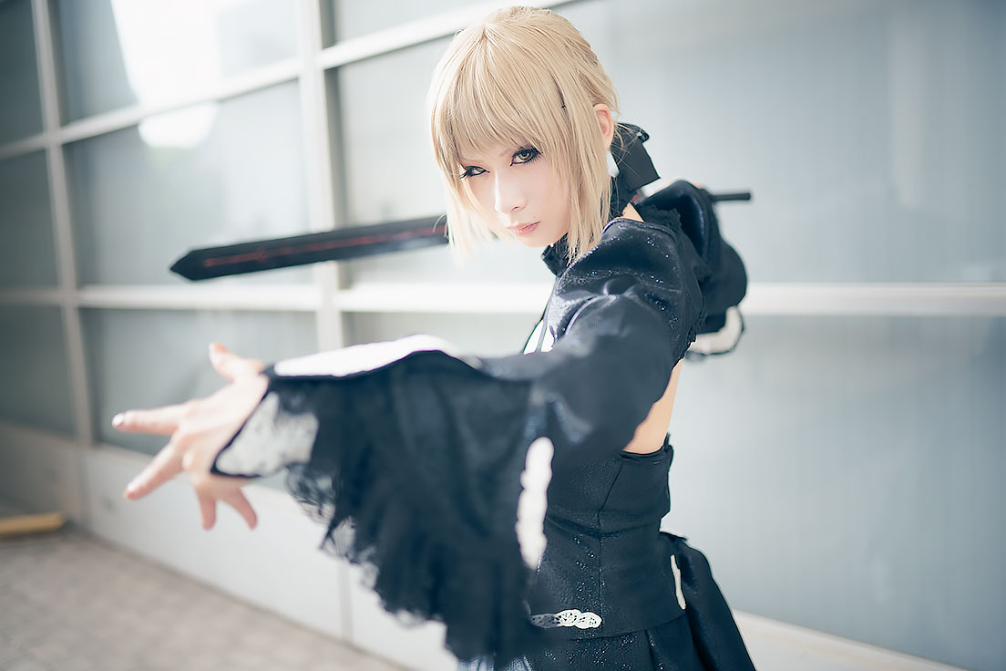 Noa as Saber Alter from Fate | Cosplay Summer Edition: Wonder Festival 2017