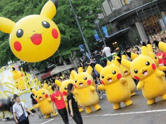 Pikachu! Pika Pika! Pikachu! (Eng translation: Look At All the Pikachu We Met in Yokohama!)