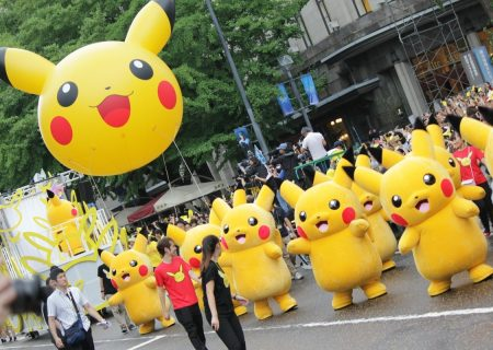 Photo from the Pikachu Carnival Parade