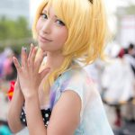 Comiket 92 Love Live! Cosplay Collection | Eri Ayase (Swimsuit arc) cosplay