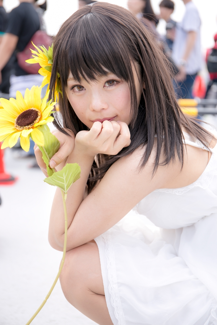 Comiket Cosplay Second Day | LovePlus Nene Anegasaki