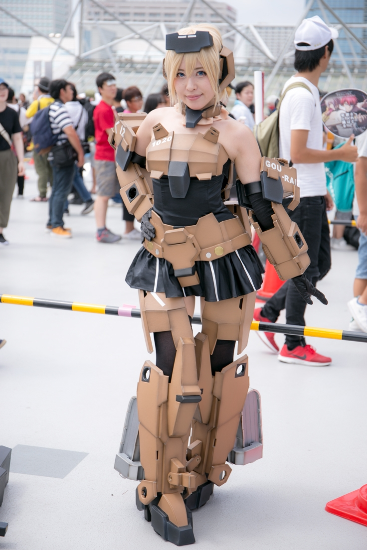 Comiket Cosplay Second Day | Frame Arms Girl Gourai