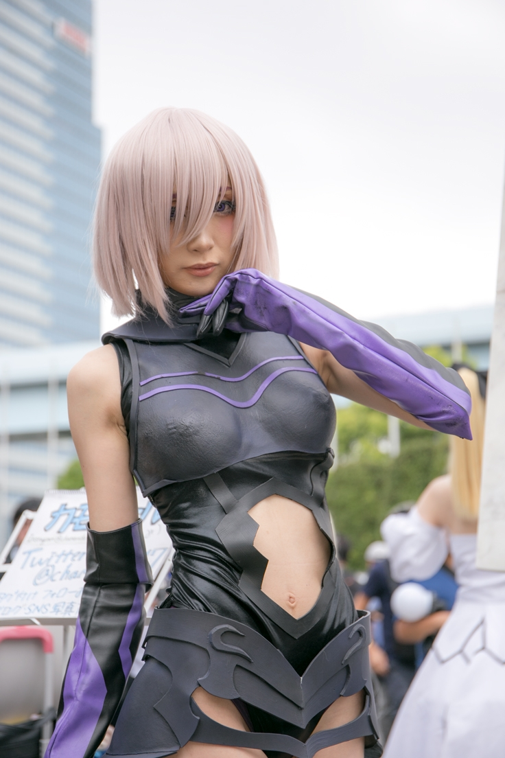 Comiket Cosplay Second Day | Fate:Grand Order Mash Kyrielight