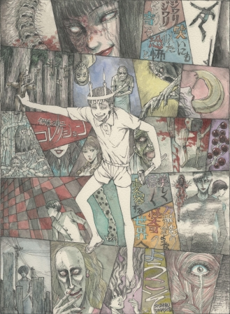 Junji Ito Masterpiece Collection Visual Anime