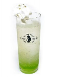 Drink from the New Game!! x Cure Maid Cafe Collaboration Cafe