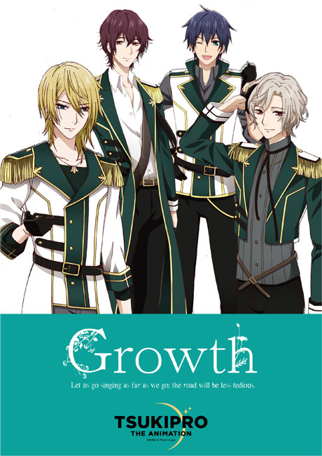 Band visual for Growth from anime Tsukipro