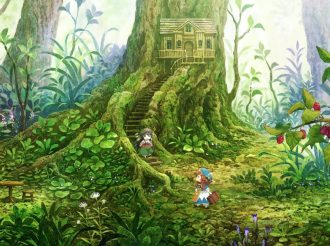 Two Teeny Tiny Girls Living in A Forest: Hakumei to Mikochi Gets Anime Adaptation