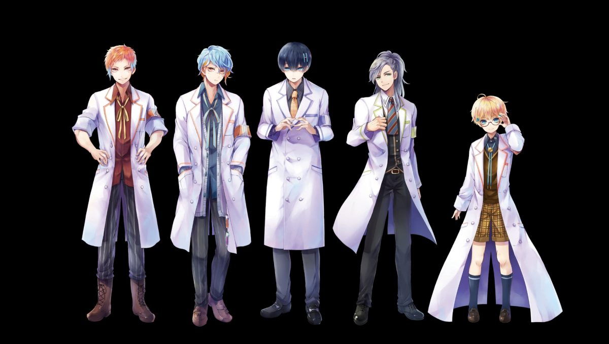 Particle Boys Science Project Characters