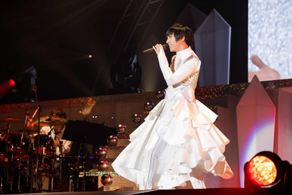 Still from Blu-ray/DVD Shouta Aoi Live 2017 Wonder lab. ~prism~