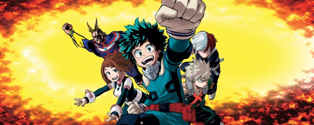 My Hero Academia Official Visual