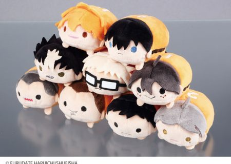 Haikyuu!! Mascot Characters Version 3 from the 5th anniversary anime merchandise line