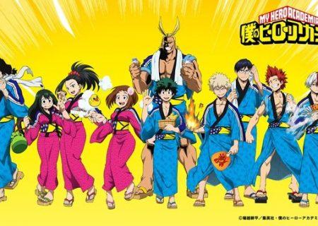 My Hero Academia Anime Onsen Collaboration