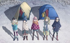 TV anime Yurucamp visual