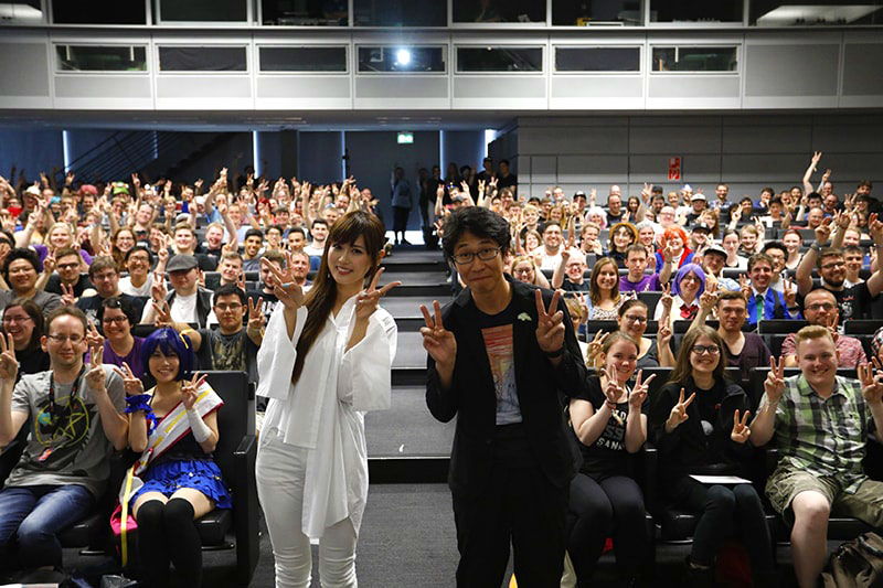 Photo from AnimagiC2017 Violet Evergarden Episode 1 EU Premiere Event