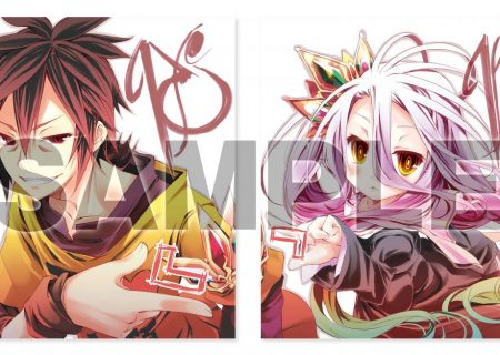 No Game No Life Zero Sora Shiro Artwork