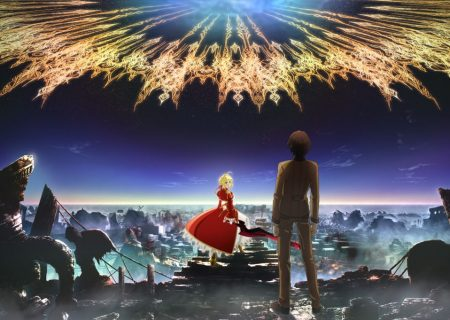 Still from the trailer of anime Fate/EXTRA Last Encore
