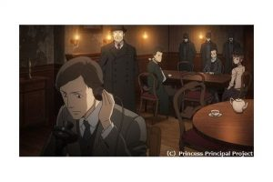 Still from the anime Princess Principal