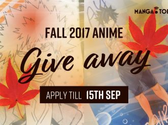 Fall 2017 Anime Giveaway: Fairy Tail, My Hero Academia, and More!