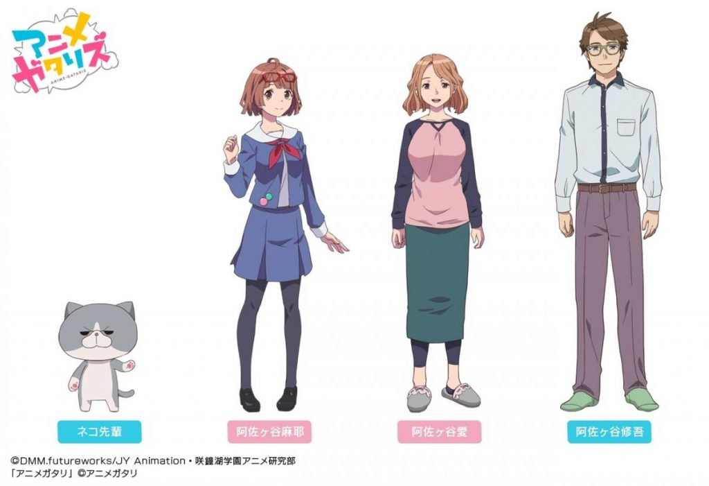 Anime-Gataris New Characters