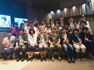 Clean Freak! Aoyama-kun Cast Get Together for Special Picture