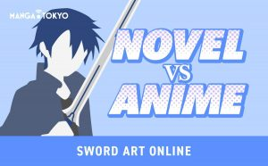 Sword Art Online Novel VS Anime