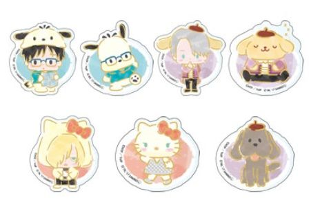 Yuri x Sanrio Character The Chara Shop Merchandise