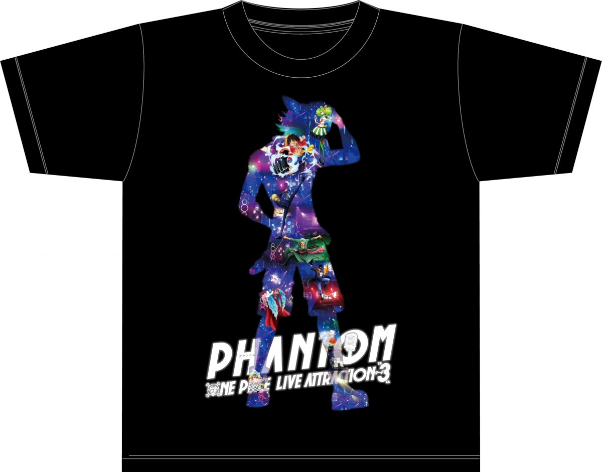 "'One Piece Live Attraction ""3"" 'Phantom' T-Shirt"