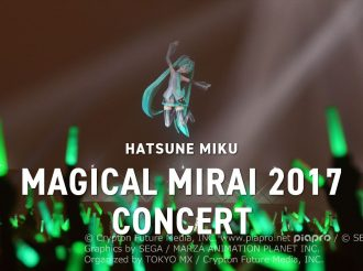Hatsune Miku Magical Mirai 2017 Concert Report, Vocaloids Sing Songs Both Old and New