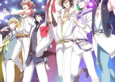 Key visual of the anime adaptation of popular smartphone rhythm game IDOLiSH7