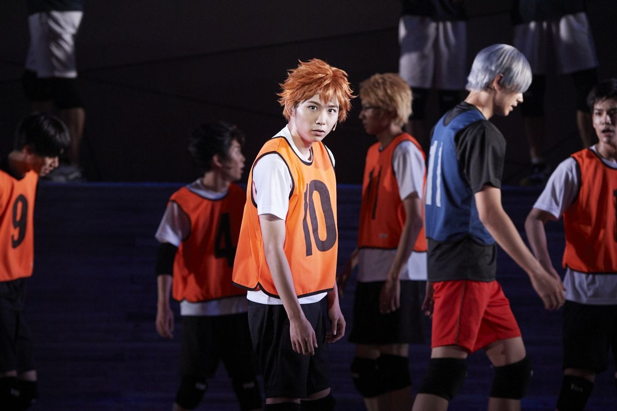 Photo from Haikyu! stage play Summer of Evolution