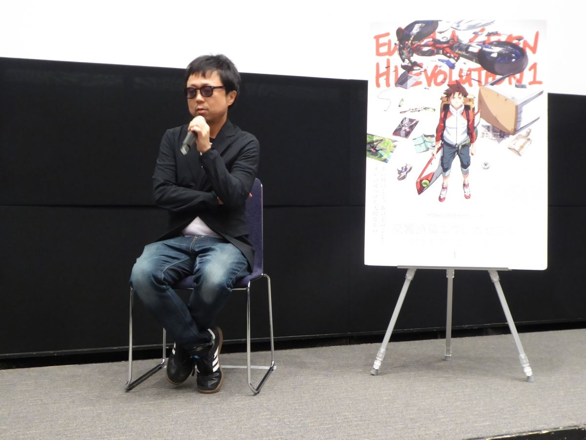 Psalms of Planets Eureka Seven: Hi-Evolution 1 Event | chief director Tomoki Kyoda and anime critic Ryouta Fujitsu