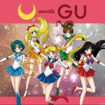 GU x Sailor Moon Clothing Series Collaboration Logo