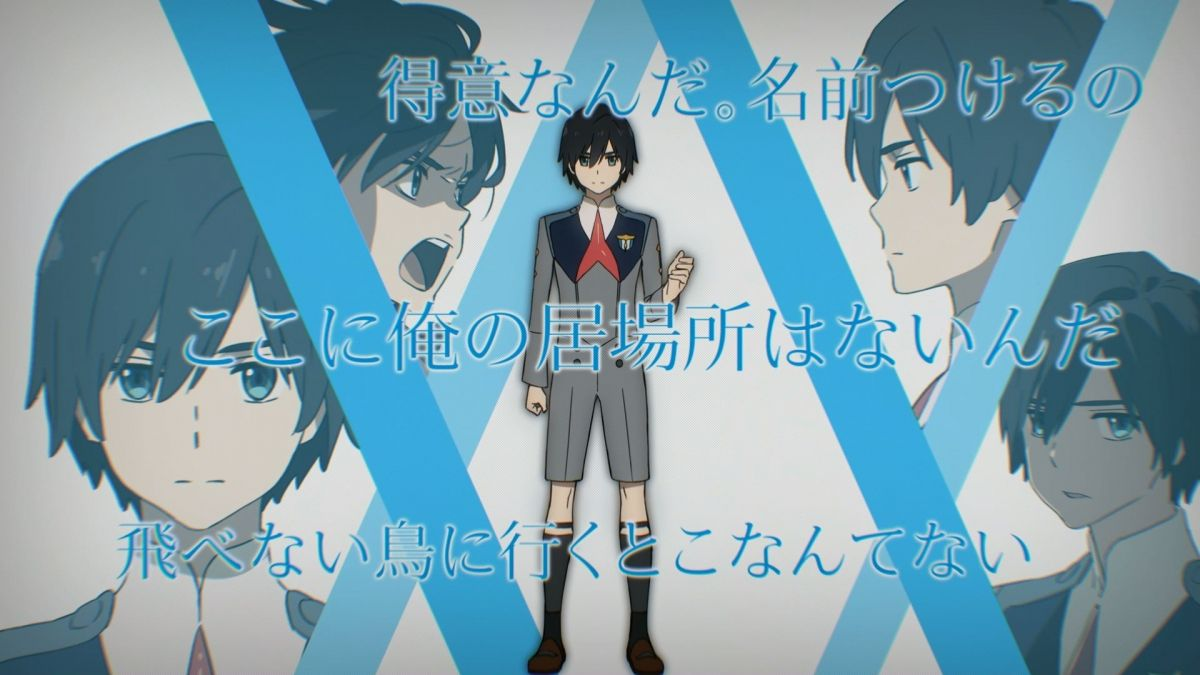 Darling in the Frankxx Anime | Character code: 016, Hiro