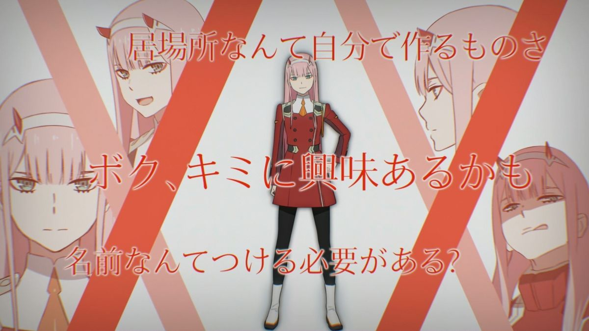 Darling in the Frankxx Anime | Character code: 002, Zero Two